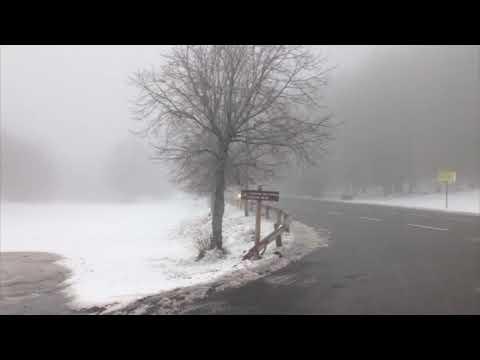 VIDÉO ET PHOTOS. Le col de Vizzavona sous la neige