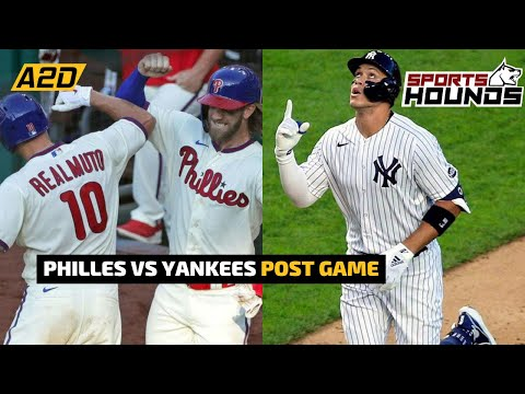 Phillies vs Yankees Post-Game Reactions | Sports Hounds
