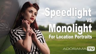 Speedlight vs Monolight on Location: Take and Make Great Photography with Gavin Hoey