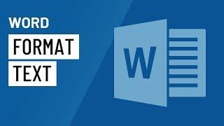 Word 2016: Formatting Text