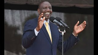 Ruto: I fully support war on corruption - VIDEO