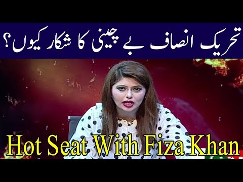 Hot Seat With Dr Fiza Khan | 1 August 2018 | Kohenoor News Pakistan