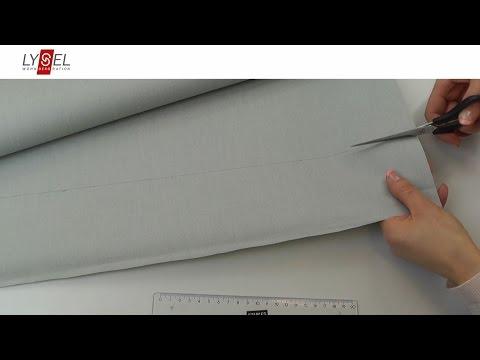 LYSEL® - Einfaches Kürzen einer Schiebegardine