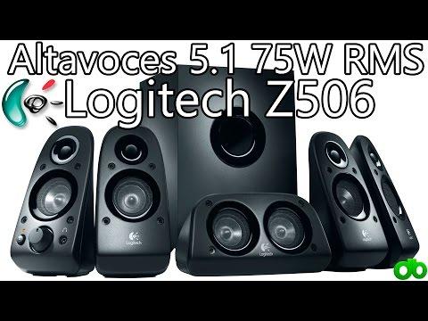 Altavoces 5.1 Logitech Z506 75W RMS El Mejor Home Cinema Calidad / Precio (Unboxing y Review)