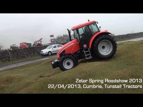 UK Zetor Cumbria Spring Roadshow