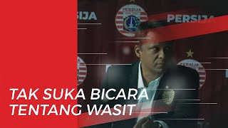 Pemainnya Dikartu Merah, Sergio Farias: Saya Tak Suka Bicara Tentang Wasit