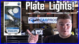 License Plate Bulb Replacement Ford F-150