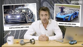 Richard Hammond roasts YouTubers' cars!