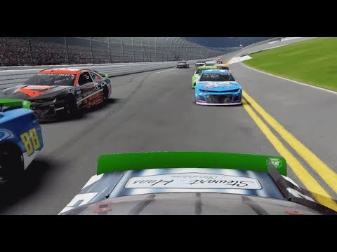 Recap Xbox/PS4 races for the eNASCAR Heat Pro League at Daytona