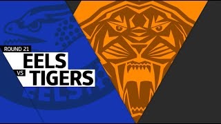NRL 2016 Round 21 Highlights Eels Vs Tigers