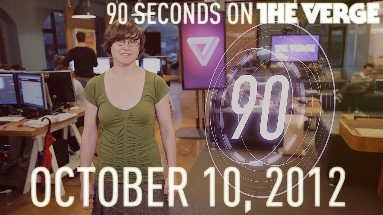 Microsoft, SpaceX, LG Nexus, and more - 90 Seconds on The Verge: Wednesday, October 10, 2012 thumbnail