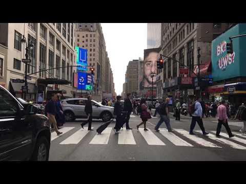 Drive 4K - Times Square - New York City USA