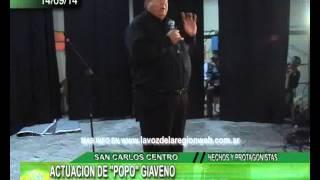 preview picture of video 'POPO GIAVENO SE PRESENTO EN LA SOCIEDAD RURAL DE SAN CARLOS'
