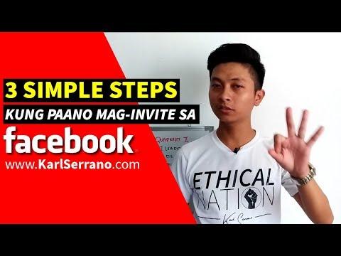 3 Simple Steps kung Paano Mag Invite ng Prospect sa Facebook