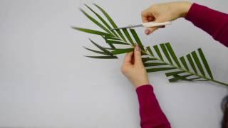 Ikebana Tips By Junko #16: More Fun Modifying Leaves