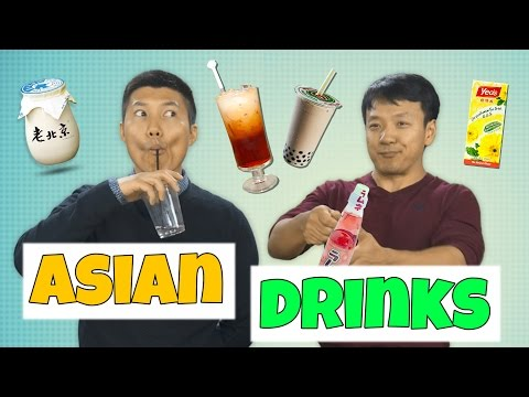 Video 12 Drinks All Asians Love!