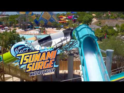 Six Flags Great America Tsunami Surge