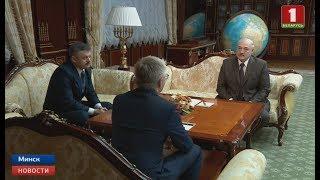 Александр Лукашенко провёл встречу с Министром спорта России Павлом Колобковым