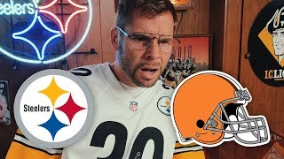 Dad Reacts to Steelers vs Browns (Week 1)