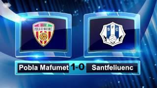 Resum del Pobla Mafumet 1-0 Santfe