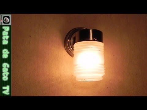 Instalando una Lámpara Exterior / Installing an Outdoor Lamp