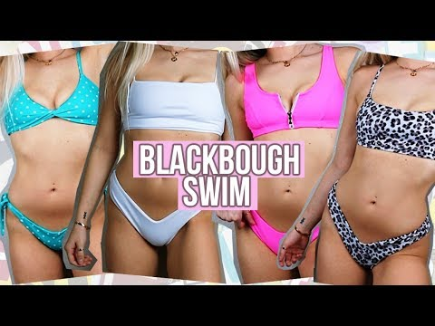 BlackBough Bikini Try On Haul   Katelyn Fitch