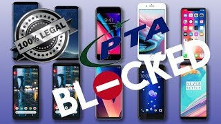 How To Unlock Any BLOCKED PTA Phone  Free Easy Fast And 100% Legal