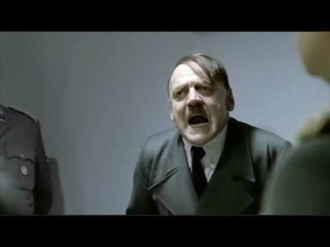 Hitler takes too much viagra