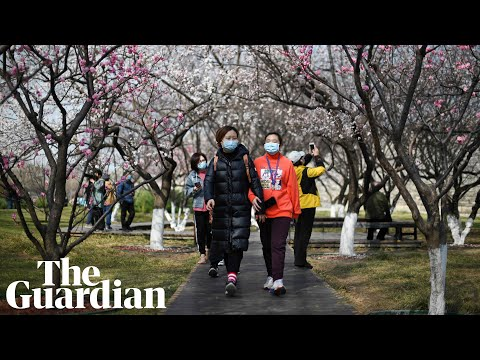 People across China venture outdoors as coronavirus outbreak worry eases