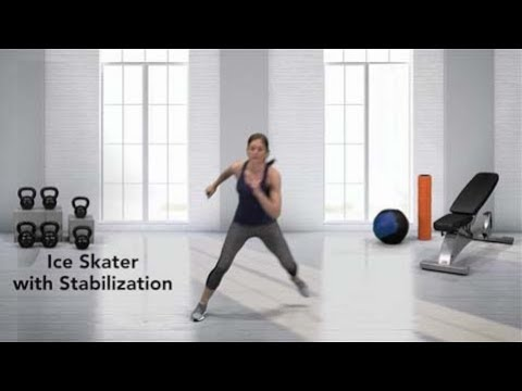 Ice Skater with Stabilization