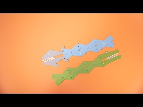 DIY Snappy Shark and Crocodile - Ellison Education