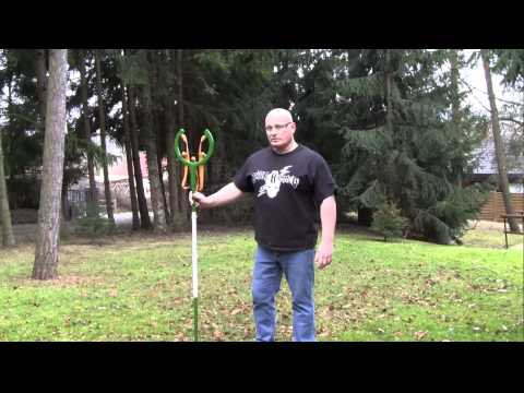 Man Builds One-Piece Slingshot. He Shoots It, Throws It, Scares Me.