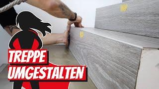 Treppe umgestalten | Renovieren mit Elmar