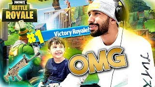 THE BABY FORTNITE DISTRACTION CHALLENGE!!