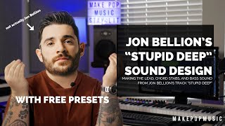 """How To Make Synths Like Jon Bellion (Recreating The Synths Of """"Stupid Deep"""")  