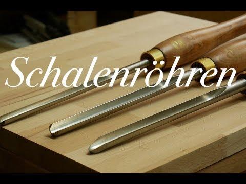 Drechselröhren Set im Test / CROWN SCHALENRÖHREN SET, HSS QUALITÄT