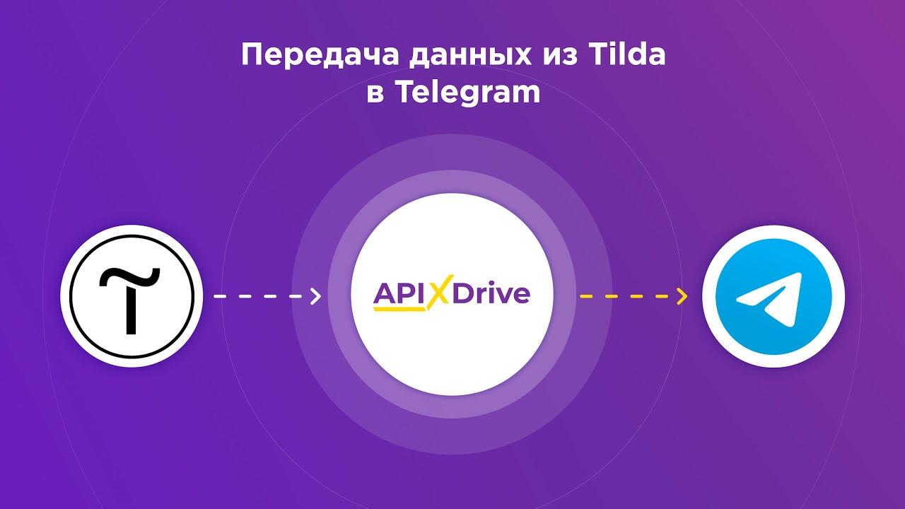 Как настроить выгрузку данных из Tilda в виде уведомлений в Telegram?