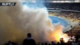 Футбольные хулиганы провели расистские акции на матче киевского «Динамо» с «Шахтёром»