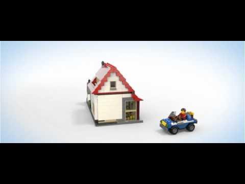 Vidéo LEGO Creator 5771 : La maison
