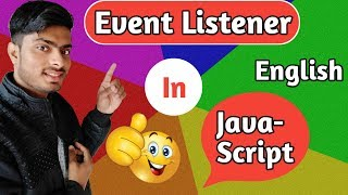 event listener in javascript in english | javascript tutorial for beginners 2019 in english
