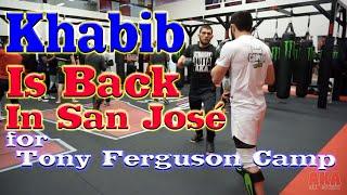 Khabib Nurmagomedov Starts Camp for Tony Ferguson in San José: Javier Méndez, Tai Tuivasa