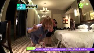 4Minute Jiyoon + Sohyun cut [ Fun dance and cute moment ]