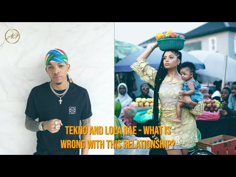 Tekno, Lola Rae & Their Beautiful Daughter Skye -  Are the young couple still together?