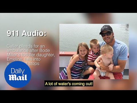 Desperate 911 call after Bode Miller's daughter falls in pool