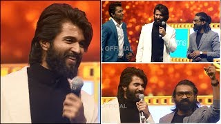 Sensational Star Vijay Devarakonda's Power Packed Performance On Stage