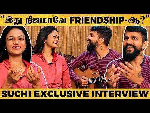 என்னை காப்பாத்துன CUTE பையன்..😍 - Singer Suchitra OPEN TALK!