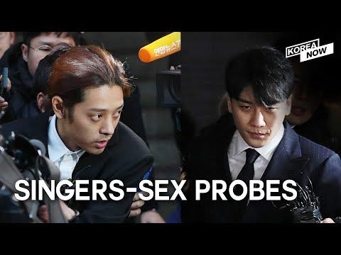 Jung Joon-young, Big Bang's Seungri return home after questioning over sex scandals