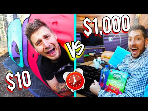 OVERNIGHT SURVIVAL CHALLENGE *GOODWILL ITEMS ONLY*