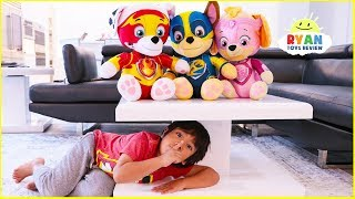 Ryan Hide and Seek from Paw Patrol Mighty Pups Toys!!!