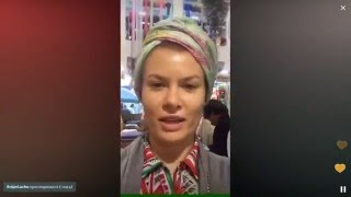 Актриса Анна Скиданова гуляет по Тель-Авиву с Перископом (2015, TopPeriscope.RU)